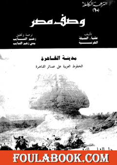 وصف مصر مدينة القاهرة الخطوط العربية على عمائر القاهرة