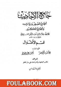 جامع الأحاديث - الجامع الصغير وزوائده والجامع الكبير - قسم الأقوال - الجزء السادس